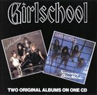 GIRLSCHOOL Screaming Blue Murder / Play Dirty album cover