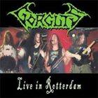 GORGUTS Live in Rotterdam album cover