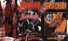 GROINCHURN The Rise of Brutality / Already Dead album cover