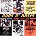 GUNS N' ROSES Live Era '87-'93 album cover