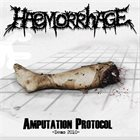 HAEMORRHAGE Amputation Protocol -Demo 2010- album cover