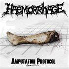HAEMORRHAGE Amputation Protocol -Demo 2010- album cover
