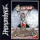 HAEMORRHAGE Grindcore album cover