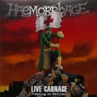 HAEMORRHAGE Live Carnage: Feasting on Maryland album cover