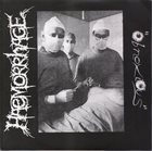 HAEMORRHAGE Obnoxious / Thy Horned God album cover