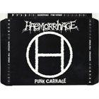HAEMORRHAGE Punk Carnage album cover
