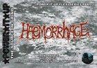HAEMORRHAGE Sucio Policia album cover