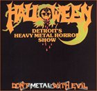 HALLOWEEN Don't Metal With Evil album cover