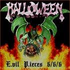 HALLOWEEN Evil Pieces 6/6/6 album cover