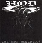 HANDS OF DEATH (QC) Canadian Tour CD 2008 album cover