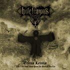 HATE LEGIONS Exitus Letalis (Tota Vita Nihil Aliud Quam Ad Mortem Iter Est) album cover