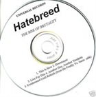 HATEBREED The Rise Of Brutality album cover