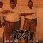 HEATHEN BEAST Rise of the Saffron Empire album cover