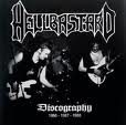 HELLBASTARD Discography 1986-1987-1988 album cover