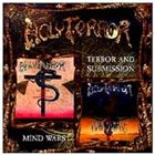 HOLY TERROR Terror and Submission / Mind Wars album cover