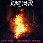 HORFIXION Let the Nightmare Begin album cover