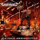 HORNCROWNED Satanic Armageddon album cover