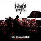 HORNED ALMIGHTY Live Exsanguination album cover
