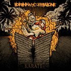 I DRINK MY COFFEE ALONE Karate album cover