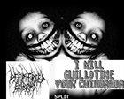 I WILL GUILLOTINE YOUR CHIHUAHUA Split album cover