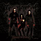 IMMORTAL Damned in Black album cover