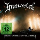 IMMORTAL The Seventh Date of Blashyrkh album cover