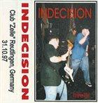 INDECISION Live!!! album cover