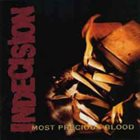 INDECISION Most Precious Blood album cover