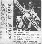 INFERNÄL MÄJESTY Demo '86 album cover