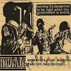 INVADE EP album cover