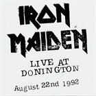 IRON MAIDEN Live At Donington album cover