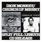 IRON MONKEY Iron Monkey / Church of Misery album cover