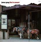 JAMES GANG Live in Concert album cover