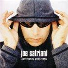 JOE SATRIANI Additional Creations album cover