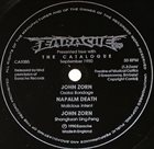JOHN ZORN John Zorn / Napalm Death album cover