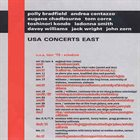 JOHN ZORN USA Concerts East (with Polly Bradfield, Andrea Centazzo, Eugene Chadbourne, Tom Corra, Toshinori Kondo, LaDonna Smith, Davey Williams & Jack Wright) album cover