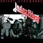 JUDAS PRIEST Priest Live & Rare album cover