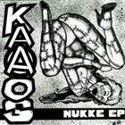 KAAOS Nukke EP album cover