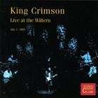 KING CRIMSON Live At The Wiltern, 1995 album cover