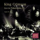 KING CRIMSON Live In Philadelphia, PA, 1996 album cover