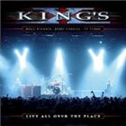 KING'S X Live All Over The Place album cover