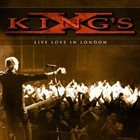 KING'S X Live Love In London album cover