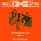 KING'S X Rehearsal Cd Vol. 1 album cover