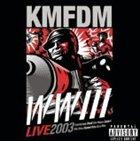 KMFDM WWIII Live 2003 album cover