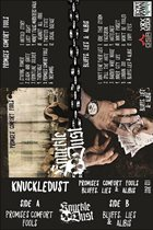 KNUCKLEDUST Promises Comfort Fools / Bluffs, Lies & Alibis ‎ album cover
