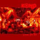 KONG Live 89-99 album cover