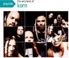 KORN Playlist: The Very Best of Korn album cover