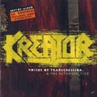KREATOR Voices of Transgression: A 90's Retrospective album cover