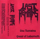 LAST REMAINS Demo 1991 album cover