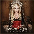 LEAVES' EYES At Heaven's End album cover